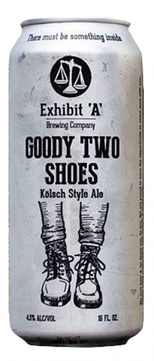 Goody Two Shoes by Exhibit 'A' Brewing Company in Massachusetts, United States