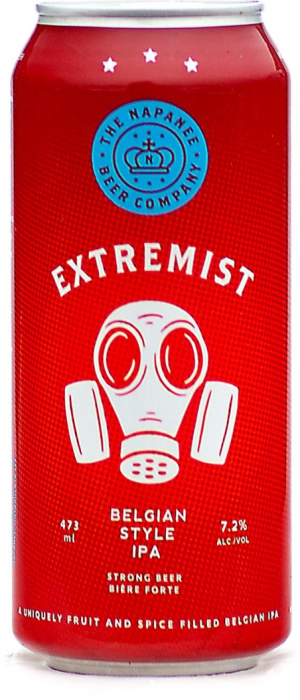 Extremist Belgian-Style IPA by The Napanee Beer Company in Ontario, Canada