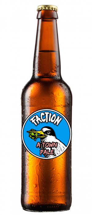 A-Town Pale by Faction Brewing in California, United States