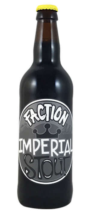Imperial Stout by Faction Brewing in California, United States