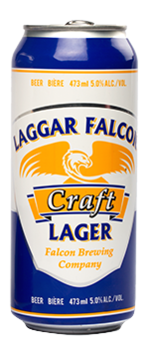 Falcon Brewing Company Laggar Falcon Craft Lager | Just Beer