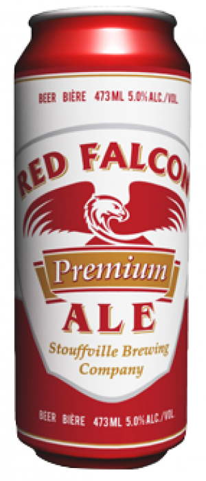 Red Falcon Ale by Falcon Brewing Company in Ontario, Canada