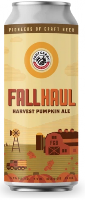Fall Haul by Fort Garry Brewing in Manitoba, Canada