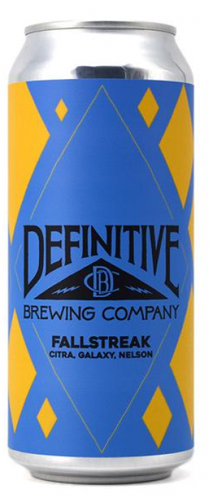 Fallstreak by Definitive Brewing Company in Maine, United States