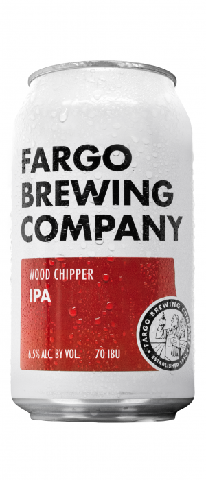 Wood Chipper IPA by Fargo Brewing Company in North Dakota, United States