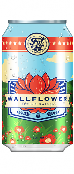 Wallflower Spring Saison by Fat Bottom Brewing Co. in Tennessee, United States