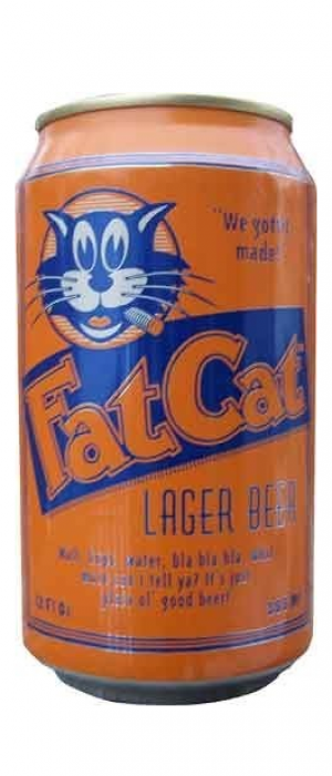 Fat Cat Lager by Fat Cat Beer Company in California, United States