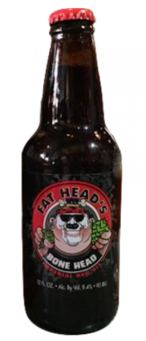 Bone Head Imperial Red Ale by Fat Head's Brewery in Oregon, United States