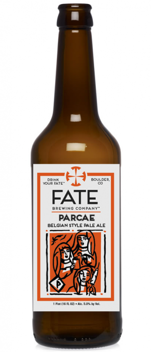 Parcae Belgian Style Pale Ale by FATE Brewing Company in Colorado, United States
