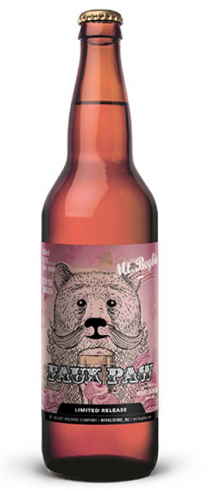 Faux Paw by Mt. Begbie Brewing Co. in British Columbia, Canada