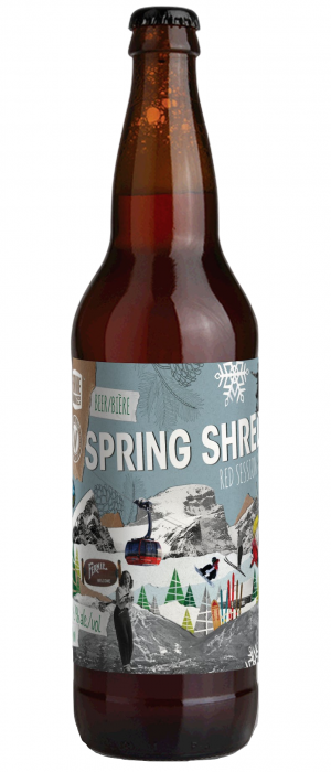 Spring Shred by Fernie Brewing Company in British Columbia, Canada