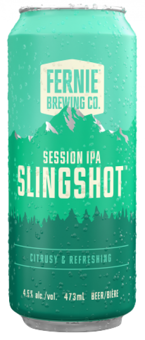 Slingshot by Fernie Brewing Company in British Columbia, Canada