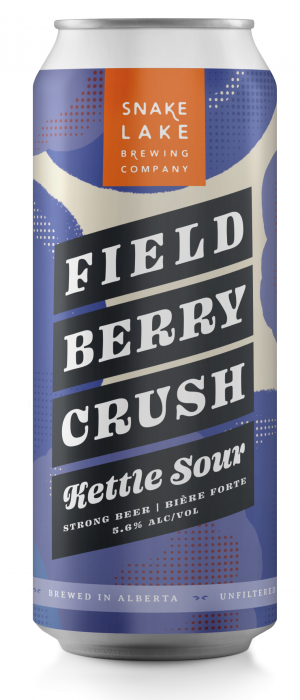 Field Berry Crush Kettle Sour by Snake Lake Brewing Company in Alberta, Canada
