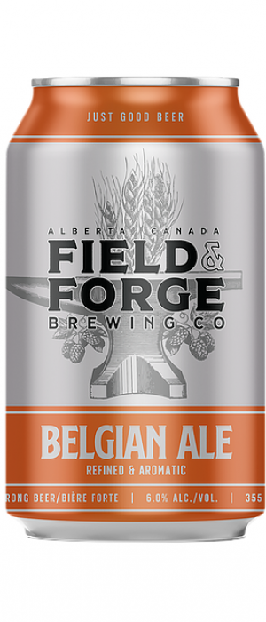 Belgian Ale by Field & Forge Brewing Co. in Alberta, Canada