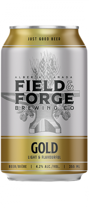 Gold by Field & Forge Brewing Co. in Alberta, Canada