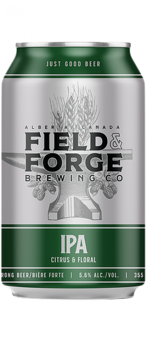 IPA by Field & Forge Brewing Co. in Alberta, Canada