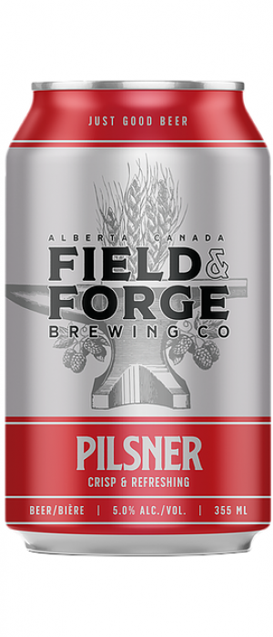 Pilsner by Field & Forge Brewing Co. in Alberta, Canada
