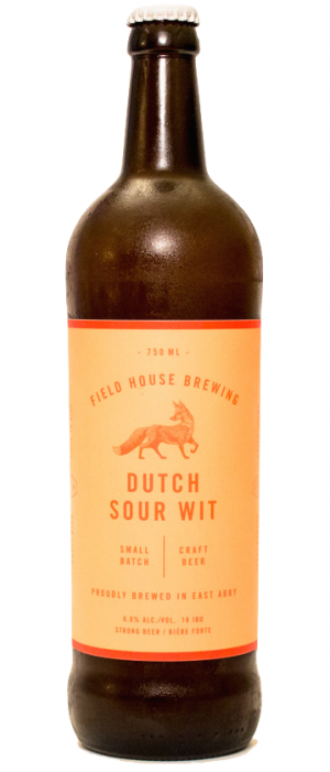 Dutch Sour Wit by Field House Brewing Co. in British Columbia, Canada
