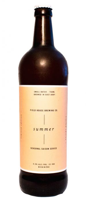 Summer Saison by Field House Brewing Co. in British Columbia, Canada