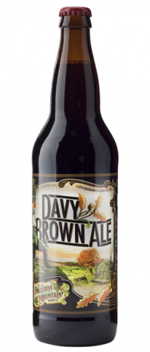 Davy Brown Ale by Figueroa Mountain Brewing in California, United States