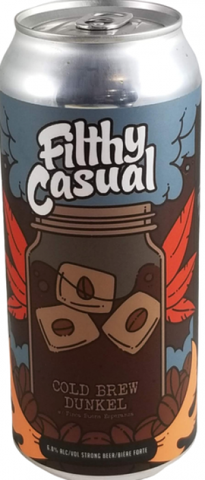 Filthy Casual Cold Brew Dunkel by Town Square Brewing Co. in Alberta, Canada