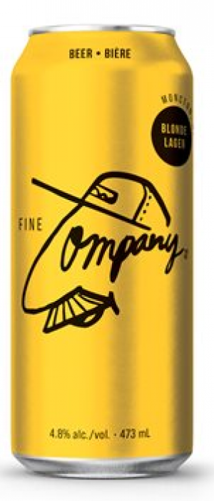 Fine Company Blonde Lager by Molson Coors in Colorado, United States