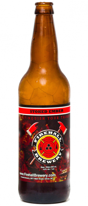 Stoked Ember by Firehall Brewery in British Columbia, Canada