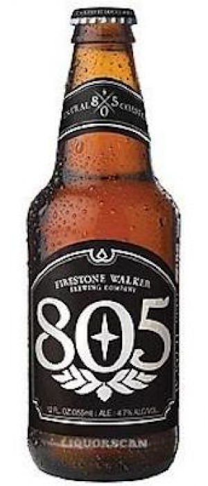 805 by Firestone Walker Brewing Company in California, United States