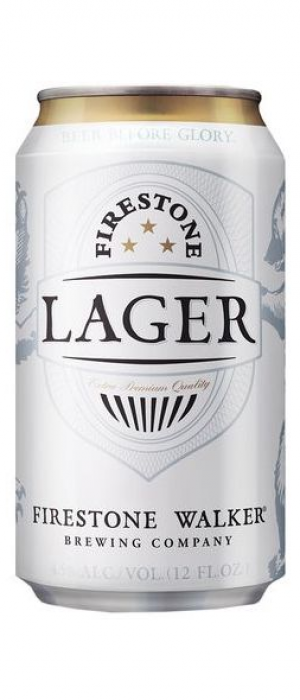 Firestone Lager by Firestone Walker Brewing Company in California, United States