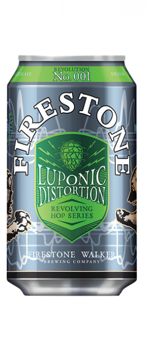 Luponic Distortion by Firestone Walker Brewing Company in California, United States
