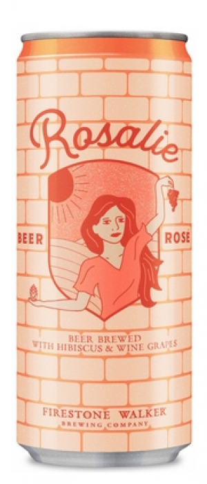 Rosalie Beer Rosé by Firestone Walker Brewing Company in California, United States