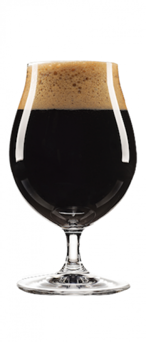 Firewood Bourbon Barrel Aged Imperial Stout by Trestle Brewing Company in Ontario, Canada