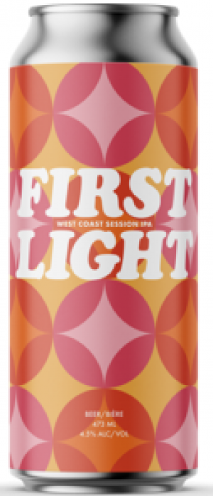 First Light Session IPA by Cabin Brewing Company in Alberta, Canada