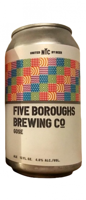 Gose by Five Boroughs Brewing Co. in New York, United States