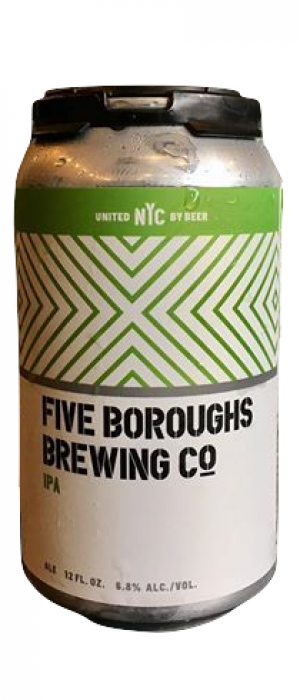 IPA by Five Boroughs Brewing Co. in New York, United States