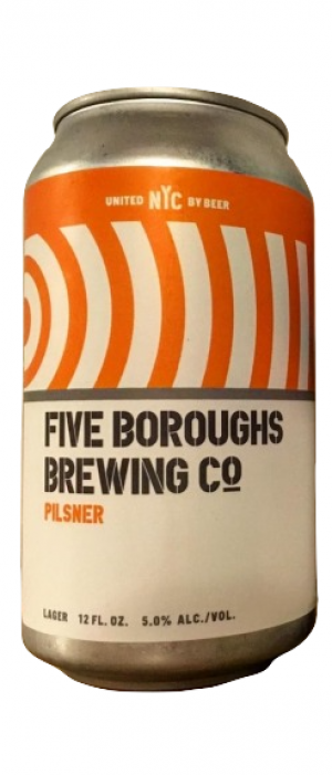 Pilsner by Five Boroughs Brewing Co. in New York, United States