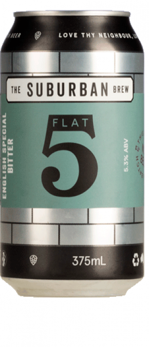 Flat 5 English Special Bitter by The Suburban Brew in South Australia, Australia
