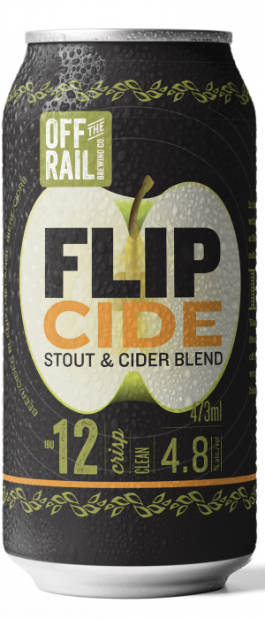 Flip Cide Black Velvet by Off The Rail Brewing Company in British Columbia, Canada