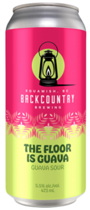 The Floor is Guava by Backcountry Brewing in British Columbia, Canada