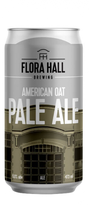 American Oat Pale Ale by Flora Hall Brewing in Ontario, Canada