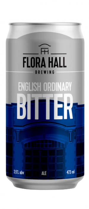 English Ordinary Bitter by Flora Hall Brewing in Ontario, Canada