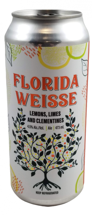 Florida Weisse: Lemons, Limes and Clementines by Blindman Brewing in Alberta, Canada