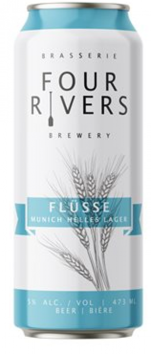 Flüsse by Four Rivers Brewing Co. in New Brunswick, Canada