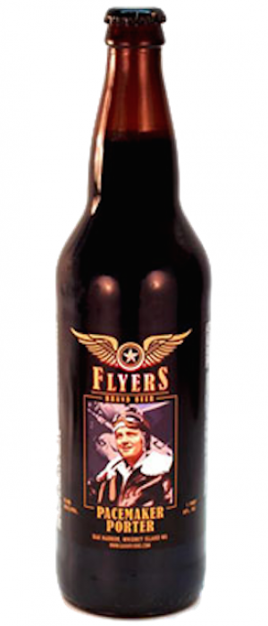 Pacemaker Porter by Flyers Restaurant and Brewery in Washington, United States