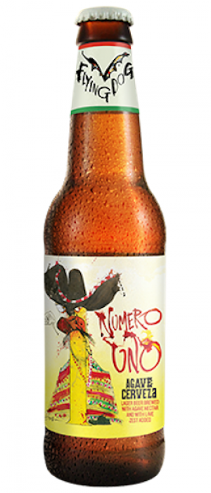 Numero Uno Agave Cerveza by Flying Dog Brewery in Maryland, United States