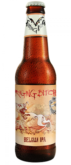 Raging Bitch by Flying Dog Brewery in Maryland, United States