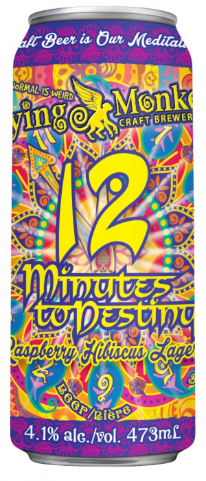12 Minutes to Destiny by Flying Monkeys Craft Brewery in Ontario, Canada