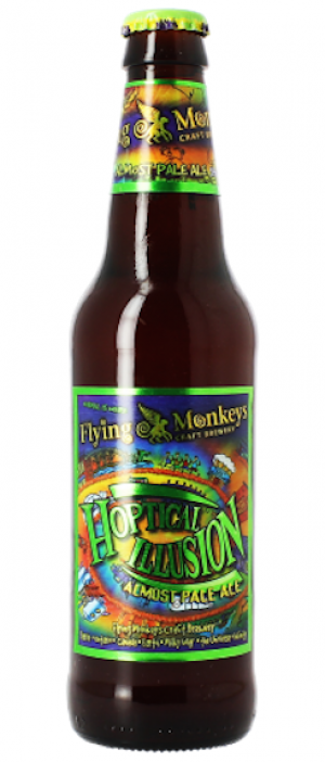 Hoptical Illusion by Flying Monkeys Craft Brewery in Ontario, Canada