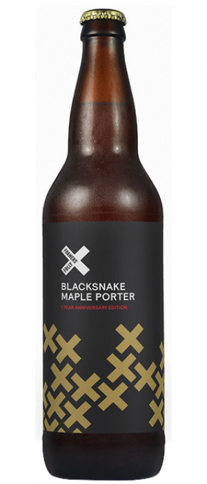 Blacksnake Maple Porter by Foamers' Folly Brewing Co. in British Columbia, Canada