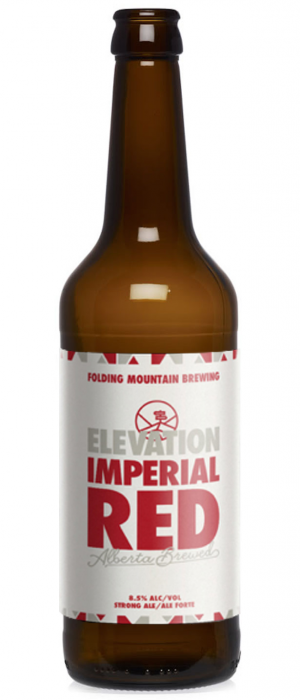 Elevation Imperial Red by Folding Mountain Brewing  in Alberta, Canada